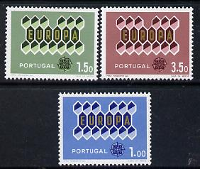 Portugal 1962 Europa set of 3 unmounted mint, SG 1213-15*