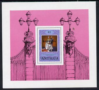 Barbuda 1978 Coronation 25th Anniversary $5 m/sheet unmounted mint, SG MS 420