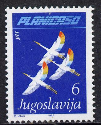 Yugoslavia 1988 Planica Ski-jump (Herons in Flight) unmounted mint SG 2196