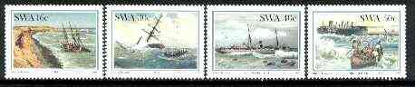 South West Africa 1987 Shipwrecks set of 4 unmounted mint, SG 483-86*