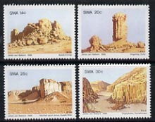 South West Africa 1986 Rock Formations set of 4 unmounted mint, SG 459-62