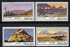 South West Africa 1982 Mountains set of 4 unmounted mint, SG 398-401*