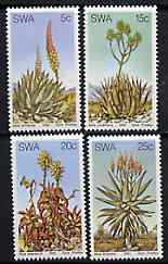 South West Africa 1981 Aloes set of 4 unmounted mint, SG 377-80