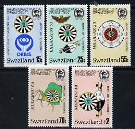 Swaziland 1986 Round Table set of 5 unmounted mint, SG 511-15