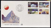 South West Africa 1979 Gemstones set of 4 on unaddressed illustrated cover with special first day cancel