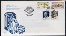 South West Africa 1983 Diamond Discovery set of 4 on unaddressed illustrated cover with special first day cancel