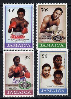 Jamaica 1986 Boxing set of 4 unmounted mint, SG 658-61