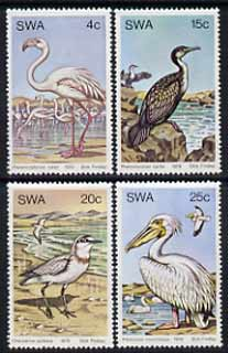 South West Africa 1979 Water Birds set of 4 unmounted mint, SG 330-33