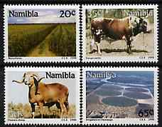 Namibia 1990 Farming set of 4 unmounted mint, SG 549-52