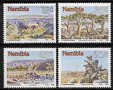 Namibia 1990 Landscapes set of 4 unmounted mint, SG 541-44
