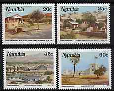 Namibia 1991 Tourist Camps set of 4 unmounted mint, SG 580-83