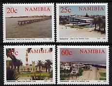 Namibia 1992 Centenary of Swakopmund set of 4 unmounted mint, SG 592-95