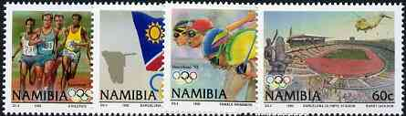 Namibia 1992 Barcelona Olympic Games perf set of 4, unmounted mint SG 597-600