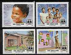 Namibia 1993 SOS Child Care  set of 4 unmounted mint, SG 619-22