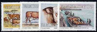Namibia 1993 Centenary of Simmentaler Cattle perf set of 4 unmounted mint, SG 611-14