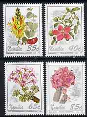 Namibia 1994 Flowers perf set of 4 unmounted mint, SG 644-47