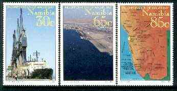 Namibia 1994 Walvis Bay set of 3 unmounted mint, SG 641-43