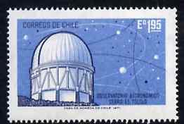 Chile 1972 Cerro el Tololo Astronomical Observatory unmounted mint, SG 683*