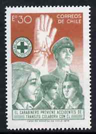 Chile 1974 Campaign to Prevent Traffic Accidents, SG 729*