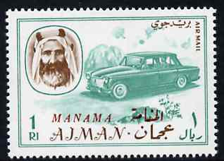 Manama 1967 Car 1R opt