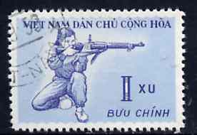 Vietnam - North 1959 Rifle Shooting 1x fine cto used from Sports set of 3, SG N113*