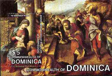 Dominica 1984 Death Anniversary of Correggio m/sheet unmounted mint, SG MS 906