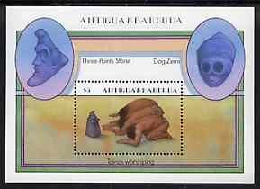 Antigua 1985 Native American Artefacts m/sheet, SG MS 918 unmounted mint