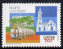 Brazil 1993 300th Anniversary of Curitiba unmounted mint SG 2568*