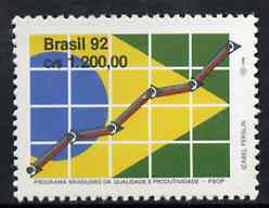Brazil 1992 Quality & Productivity Programme unmounted mint, SG 2562*