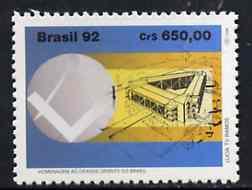 Brazil 1992 Grande Oriente (Freemasonry Lodges) unmounted mint SG  2555*
