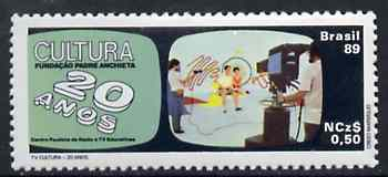Brazil 1989 TV Culture unmounted mint SG 2371*