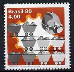 Brazil 1980 Coal Industry unmounted mint, SG 1810*