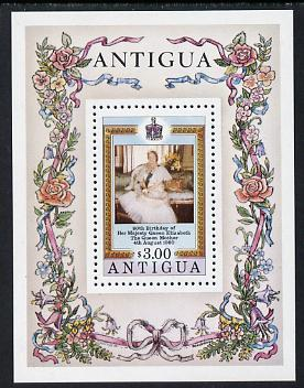 Antigua 1980 Queen Mother 80th B