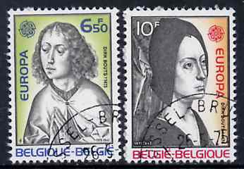 Belgium 1975 Europa (Paintings) set of 2 superb cto used, SG 2388-89*