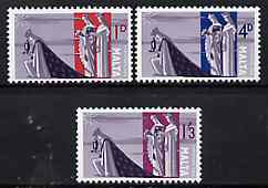 Malta 1965 Christmas set of 3 unmounted mint, SG 359-61*