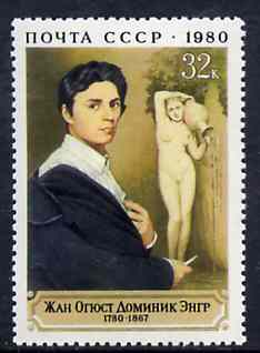 Russia 1980 Birth Bicentenary of Jean Ingres (Painter) unmounted mint, SG 5028, Mi 4987