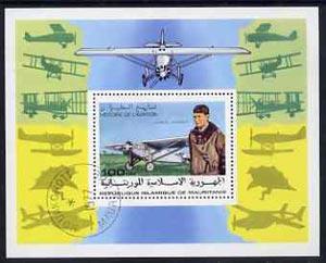 Mauritania 1977 History of Aviation m/sheet unmounted mint Mi BL B18