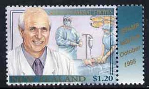 New Zealand 1995 Sir Brian Barratt-Royes (Surgeon) from Famous New Zealanders set unmounted mint, SG 1939