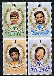 Antigua - Redonda 1979 International Year of the Child set of 4 unmounted mint*