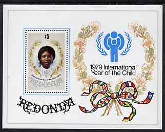 Antigua - Redonda 1979 International Year of the Child perf m/sheet unmounted mint