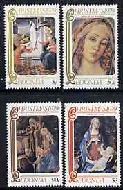 Antigua - Redonda 1979 Christmas (Paintings) Perf set of 4 unmounted mint*