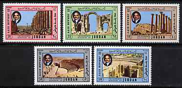 Jordan 1982 Roman Ruins at Jerash set of 5 unmounted mint, SG 1353-57*