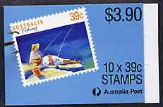 Booklet - Australia 1989 Fishing $3.90 booklet complete containing pane SG 1179a (P14 x P14.5) SG SB64