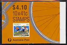 Booklet - Australia 1989 Cycling $4.10 booklet complete, SG SB 65