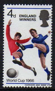 Great Britain 1966 World Cup Football - England Winners with