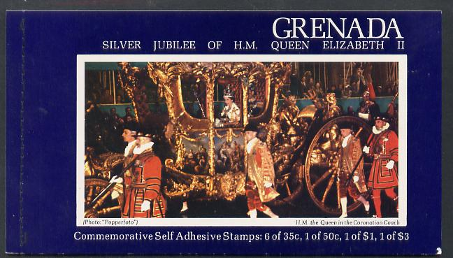 Booklet - Grenada 1977 Silver Jubilee Booklet complete and pristine, SG SB1