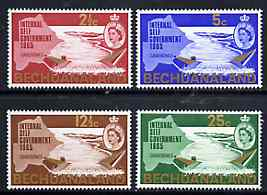Bechuanaland 1965 New Constitution (Dam & Map) set of 4 unmounted mint, SG 186-89*