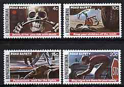 Bophuthatswana 1978 Road Safety set of 4 unmounted mint, SG 25-28