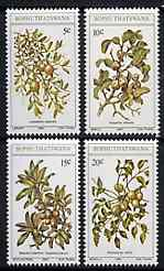 Bophuthatswana 1980 Edible Wild Fruits set of 4 unmounted mint, SG 56-59