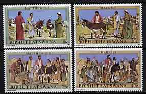 Bophuthatswana 1983 Easter (Palm Sunday) set of 4 unmounted mint, SG 104-107*